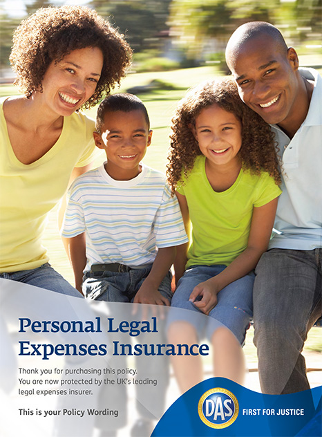 Personal Legal Expenses Policy wording